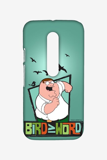 Family Guy Bird Word Case for Moto G Turbo