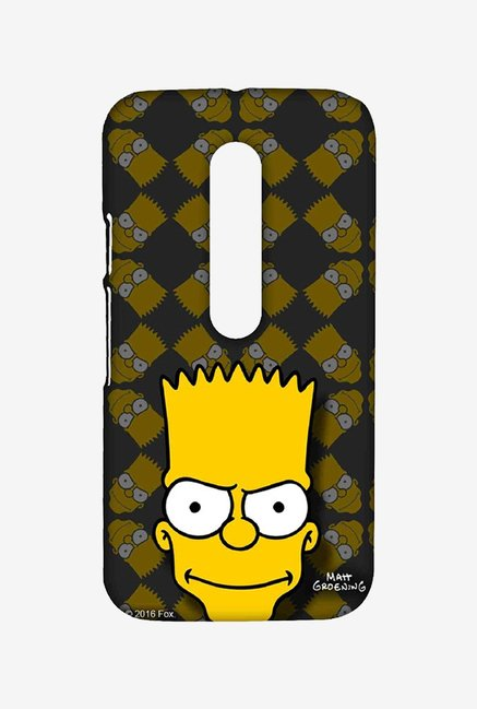 Simpsons Bartface Case for Moto G Turbo