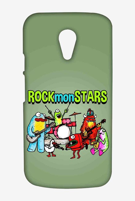 Kritzels Rockmonstars Case for Moto G2