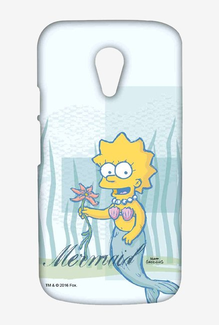 Simpsons Mermaid Case for Moto G2