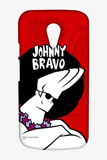 Johnny Bravo Hawaii Case for Moto G2