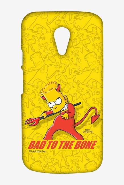 Simpsons Bad To The Bone Case for Moto G2