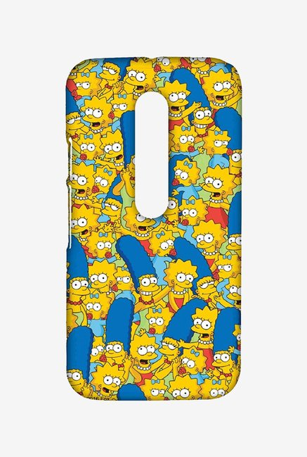 Simpsons Pattern Case for Moto G Turbo