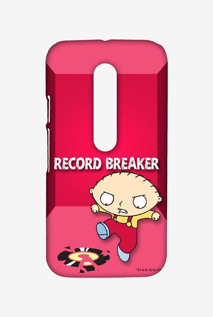 Family Guy Record Breaker Case for Moto G3