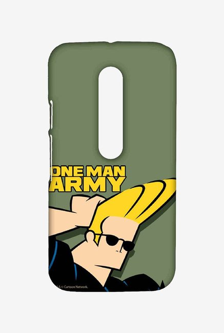 Johnny Bravo One Man Army Case for Moto G3