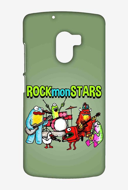 Kritzels Rockmonstars Case for Lenovo K4 Note