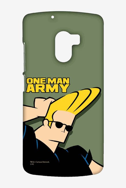 Johnny Bravo One Man Army Case for Lenovo K4 Note