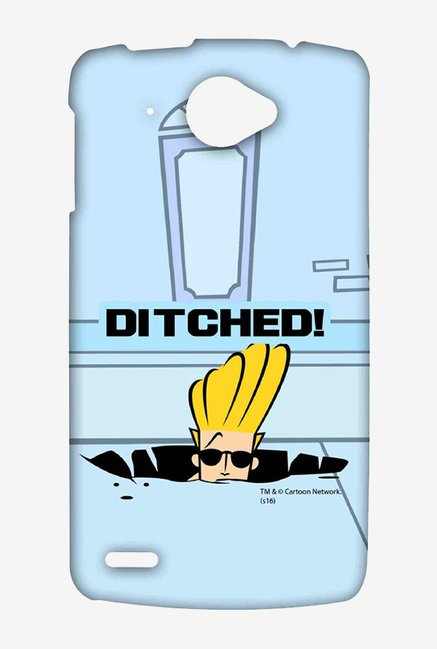 Johnny Bravo Ditched Case for Lenovo S920