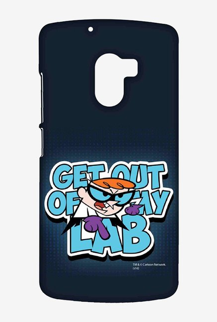 Dexter Get Out Of My Lab Case for Lenovo K4 Note