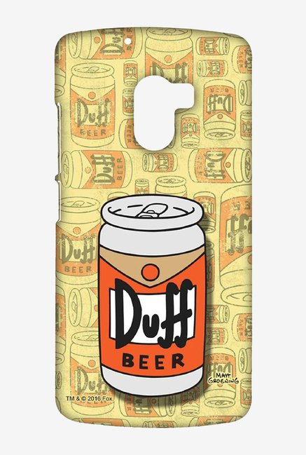 Simpsons Duff Beer Case for Lenovo K4 Note