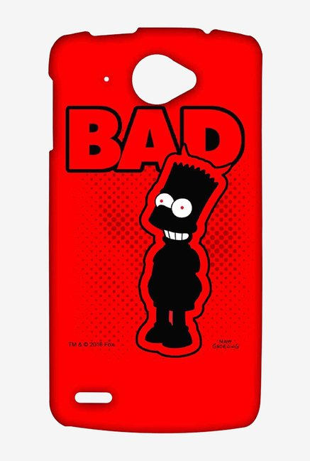 Simpsons Bad Case for Lenovo S920