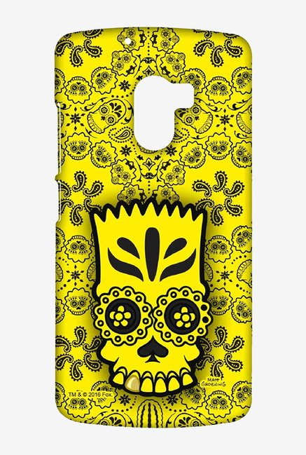 Simpsons Celtic Bart Case for Lenovo K4 Note