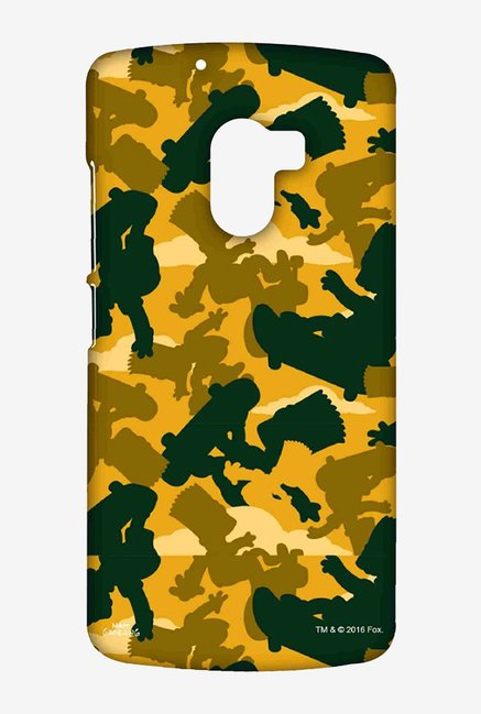 Simpsons Camo Bart Case for Lenovo K4 Note