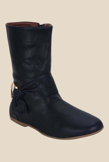 Kielz Black Flat Booties