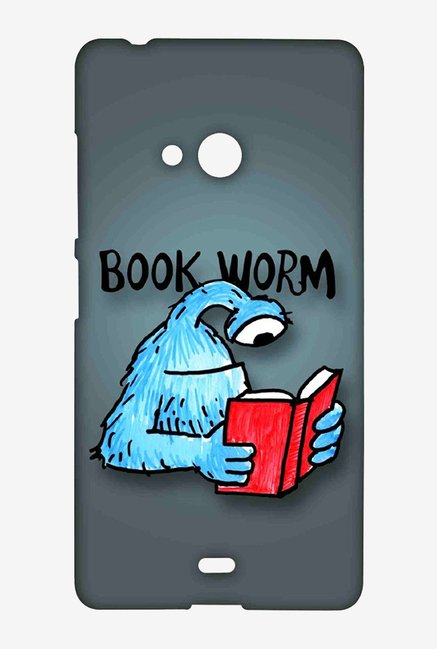 Kritzels Book Worm Case for Microsoft Lumia 540