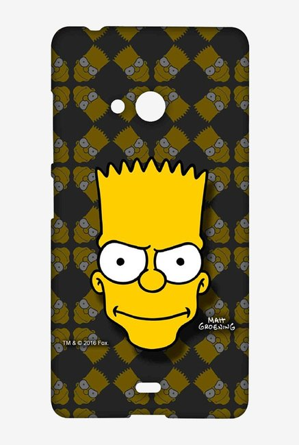 Simpsons Bartface Case for Microsoft Lumia 540