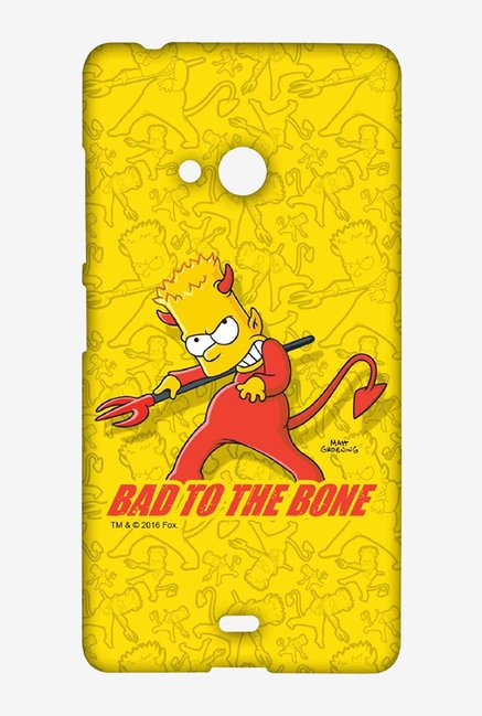 Simpsons Bad To The Bone Case for Microsoft Lumia 540