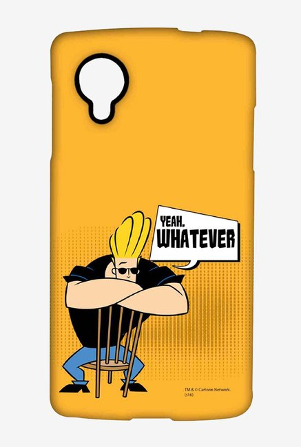 Johnny Bravo Yeah Whatever Case for LG Nexus 5