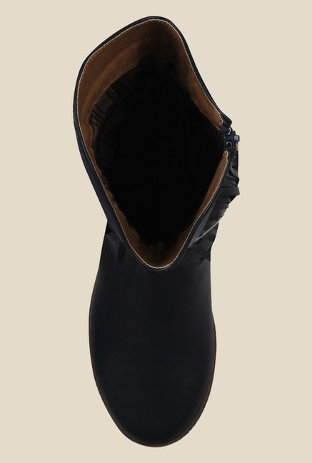 Kielz Navy Flat Booties