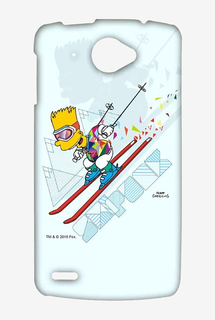 Simpsons Ski Punk Case for Lenovo S920