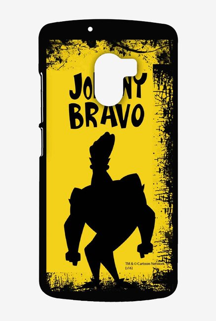 Johnny Bravo Yellow Grunge Case for Lenovo K4 Note