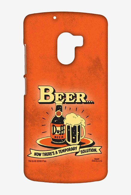 Simpsons Temporary Solution Case for Lenovo K4 Note