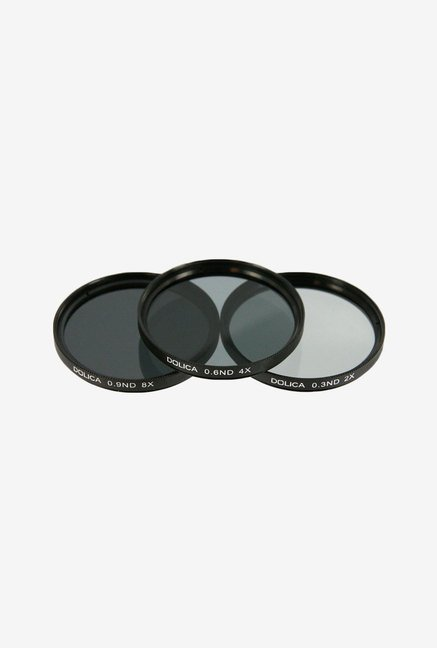 Dolica CF-NDK62 Neutral Density Filter Kit (Black)