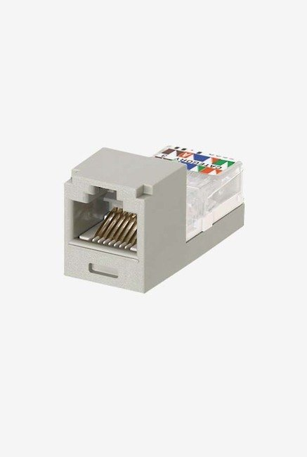Panduit CJ66UIGY Category-3 6-Wire Jack Module (Grey)
