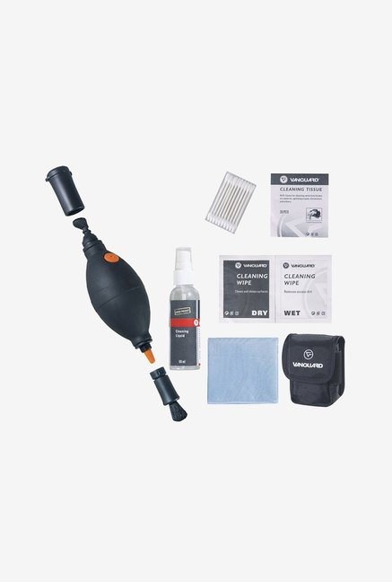 Vanguard CK6N1 6-In-1 Cleaning Kit (Black)