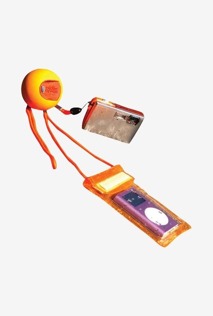 Delkin Jellyfish Floating Waterproof Accessory Kit (Orange)