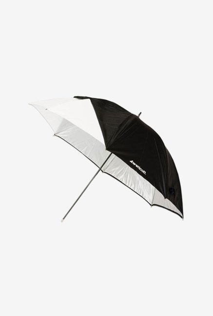 Westcott 2016 45-Inch Satin Collapsible Umbrella (White)