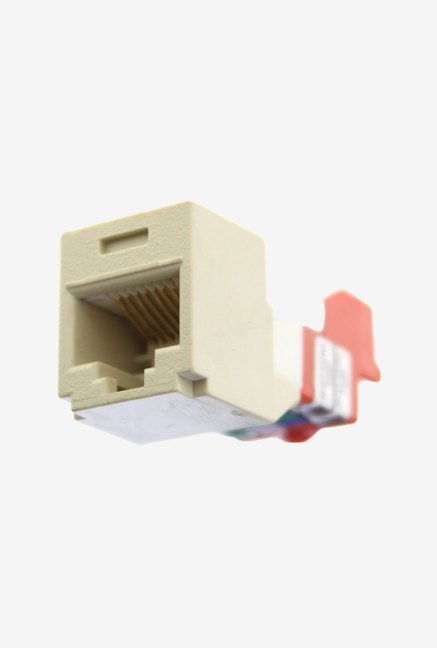 Panduit CJ5E88TEI Category-5E 8-Wire T-Style Jack Module