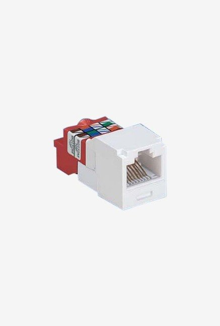 Panduit CJ5E88TGVL-24 Category-5E 8-Wire T-Style Jack Module