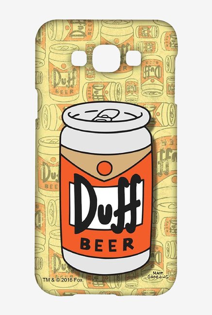 Simpsons Duff Beer Case for Samsung Galaxy E7