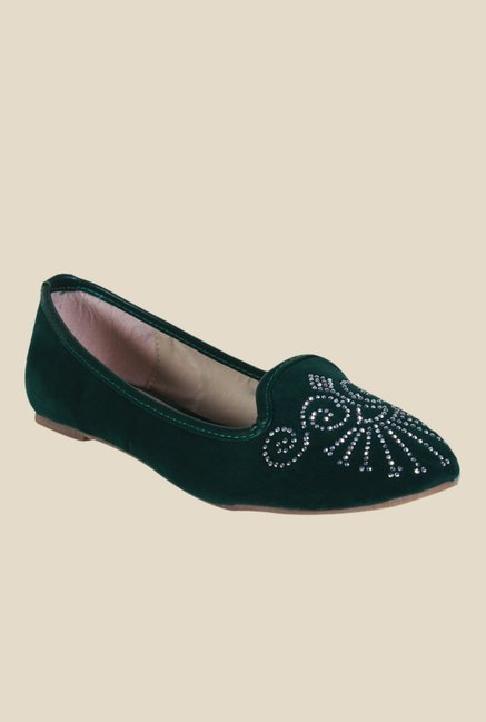 Kielz Green Casual Loafers