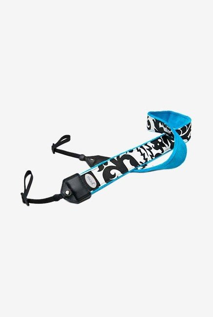 Mod 206 Camera Strap (Black & Turquoise)