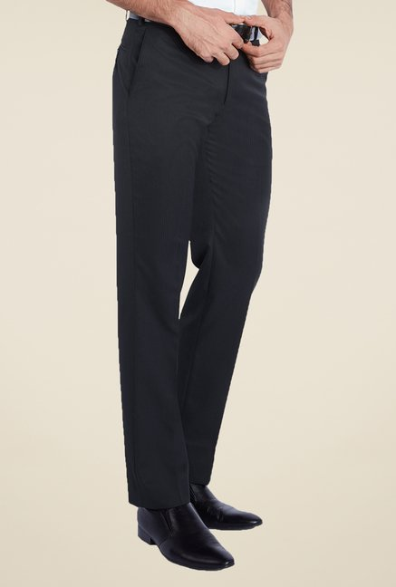 Park Avenue Navy Striped Trousers