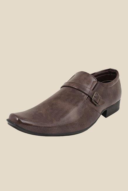 Rexler Brown Monk Shoes