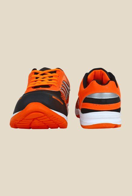 Rexler Orange & Black Running Shoes