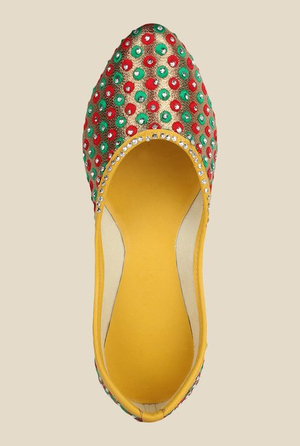 Sassily Multicoloured Jutti Shoes