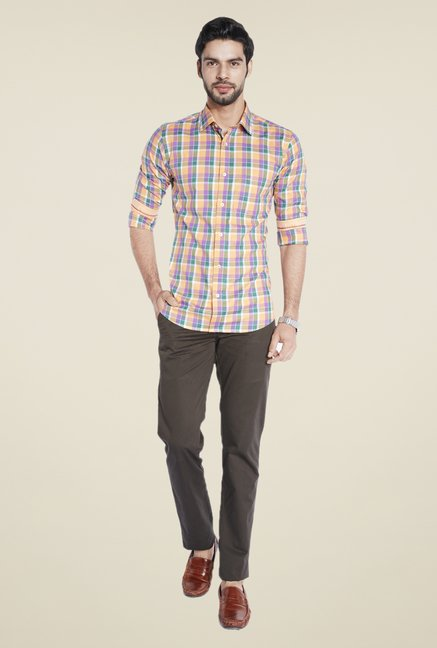 ColorPlus Multicolor Checks Shirt