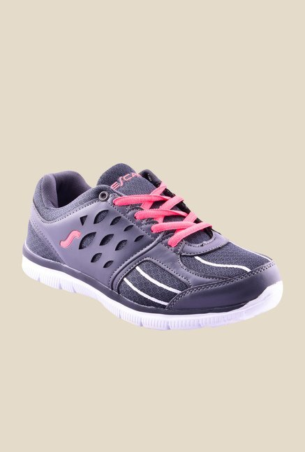 Escan Grey Running Shoes