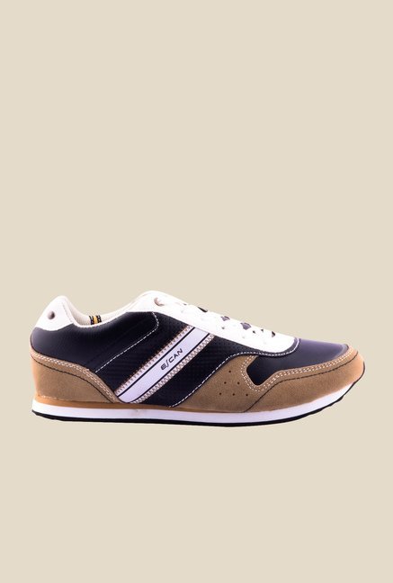 Escan Purple & Brown Running Shoes