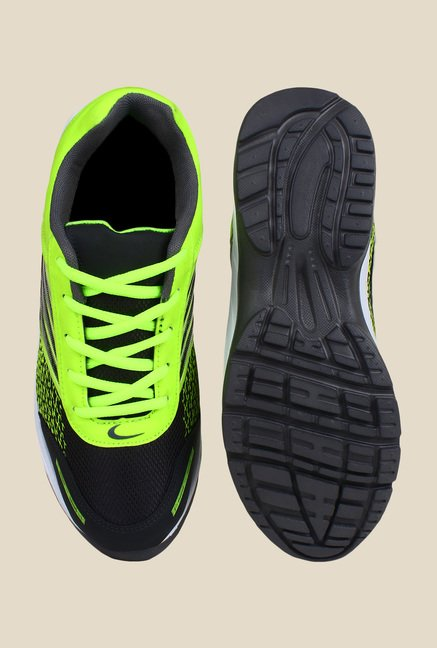 Rexler Green & Black Running Shoes