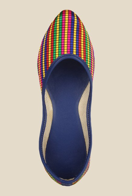 Sassily Multicoloured Flat Juttis
