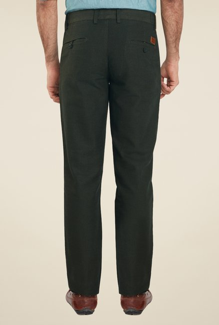 ColorPlus Olive Solid Chinos