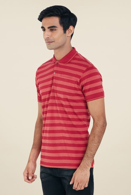 Park Avenue Red Stripes T Shirt