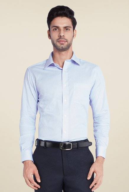 Park Avenue Blue Striped Shirt