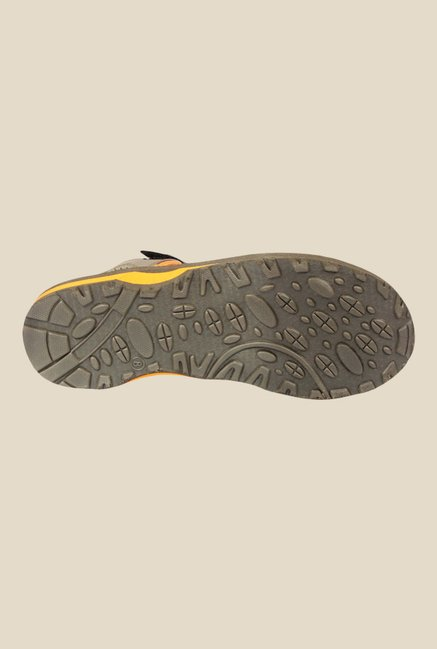 Spunk Jaguar Olive & Orange Floater Sandals