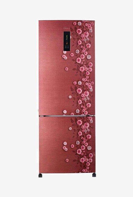 Haier HRB-3654PRL-R 345L Double Door Refrigerator (RedLiana)